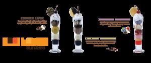 Ly thuỷ tinh đựng kem