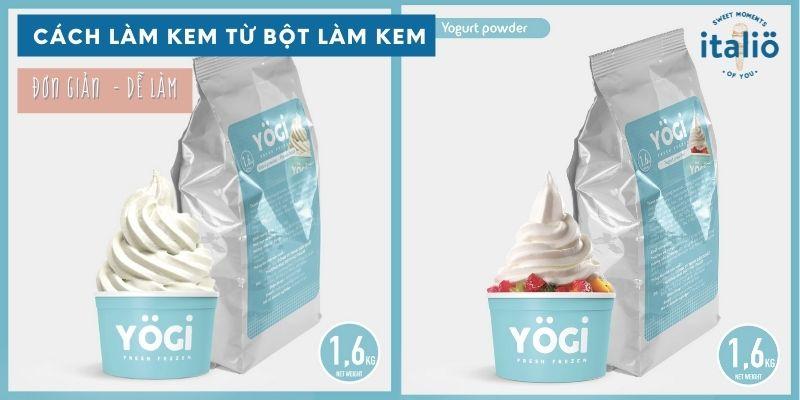 Cach Lam Kem Tu Bot Lam Kem