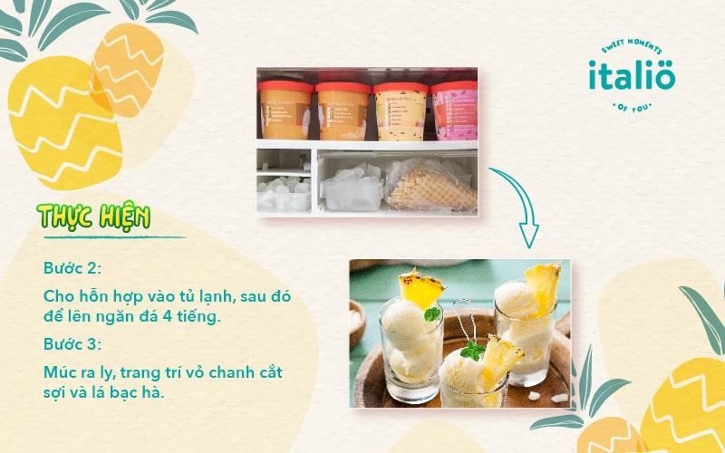 Cach Lam Kem Thom Buoc 2 Tai Nha