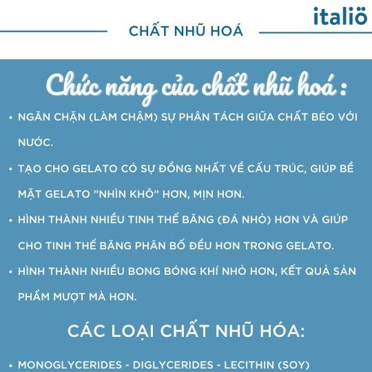 Chat Nhu Hoa Trong Kem Gelato