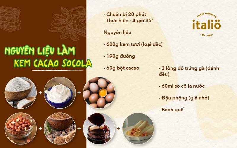 Nguyen Lieu Lam Kem Cacaosocola Tai Nha