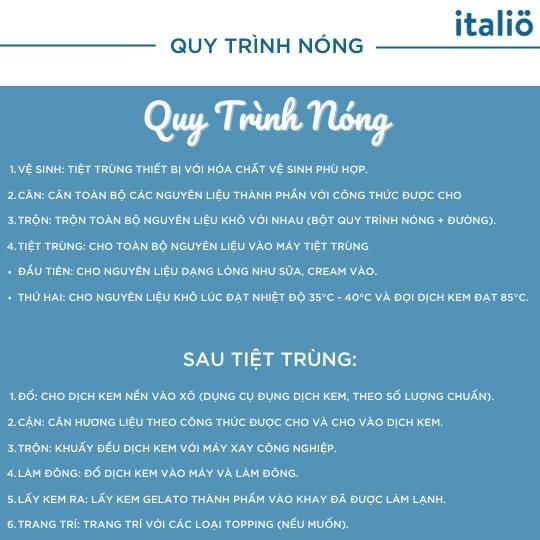 Quy Trinh San Xuat Kem Gelato