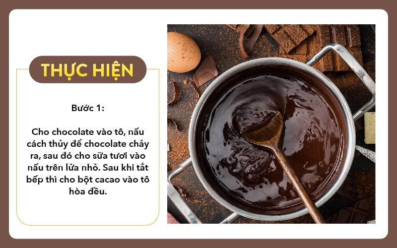 Cach Lam Kemchocolate Buoc 1 Tai Nha