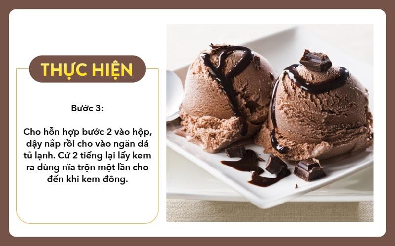 Cach Lam Kemchocolate Buoc 3 Tai Nha